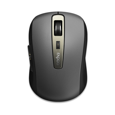 Rapoo MT350 Wireless Bluetooth Dual Mode Office Mouse Symmetrical Design rapoo 6610 2 4ghz dual mode usb wireless 1000dpi optical mouse black silver
