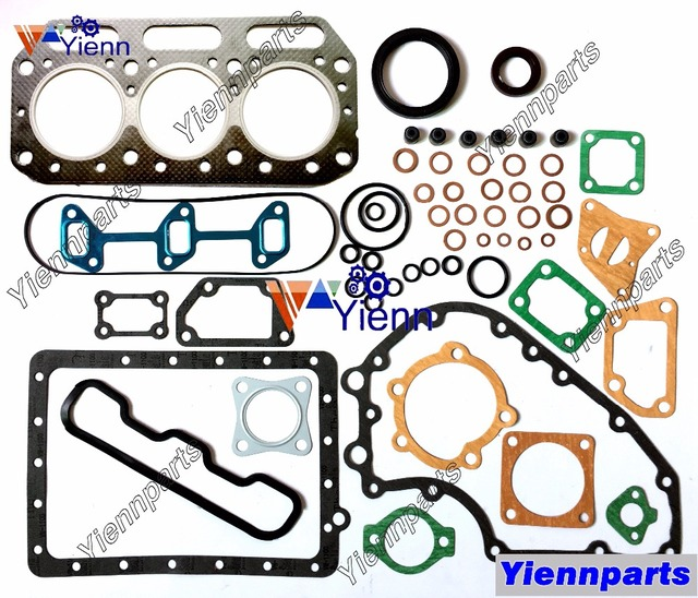 Yanmar 3d75 1 3t75 3t75hl 3t75ha Full Gasket Kit With Head Gasket