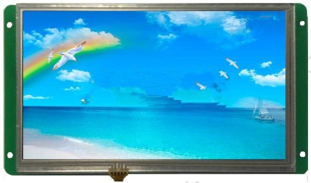 DMT10600K070_03W 7 inch industrial serial screen industrial control screen HD color screen ultra industrial applications for 10 4 inch industrial serial