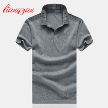 Men Business Polo Shirts Brand Summer Short Sleeve Casual Slim Fit Big Size M-6XL Solid Color Breathable Polo Shirts SL-G12