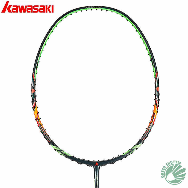 Genuine 2019 New Kawasaki Special Carbon Fiber Passion P5 Magic 2 IN 1 Frame Honor S6 Badminton Racket With Gift