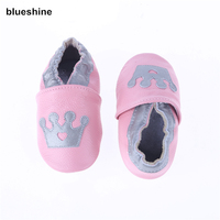Lovely Styles Of Genuine Leather Baby Soft Shoes Infant Booties Baby Prewalker First Walker Shoes Cow