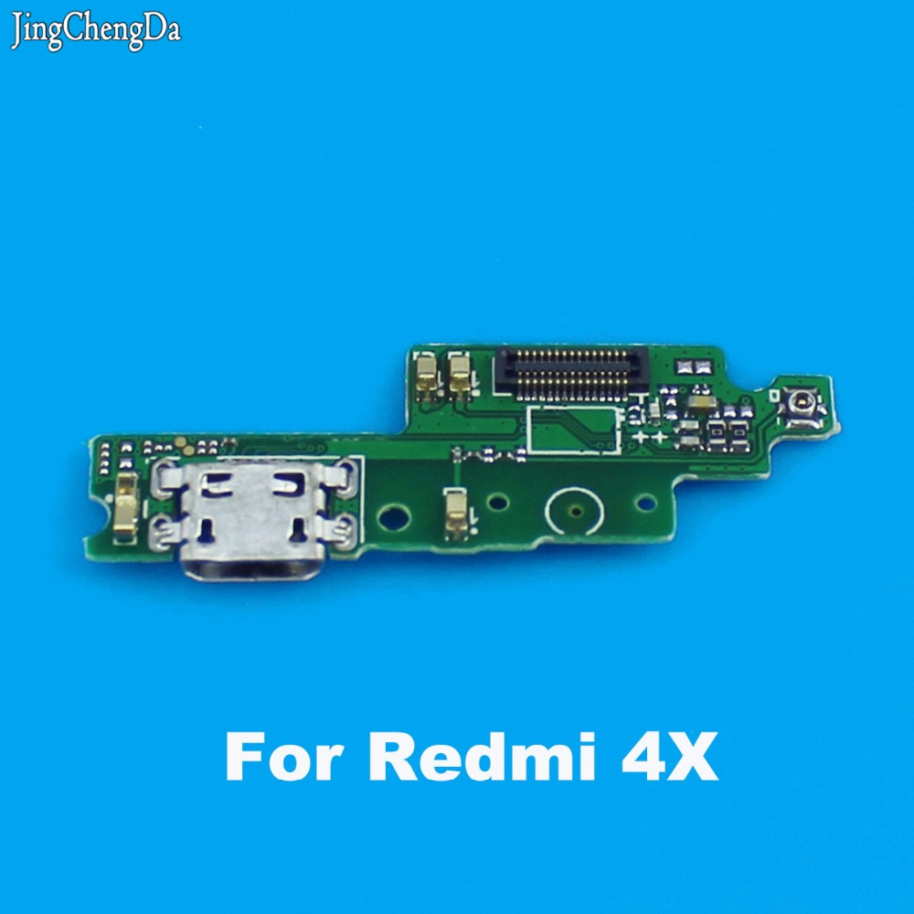 JCD For Xiaomi For Redmi 4X Charging Port Dock Connector Flex Cable Dock Charger Module Replacement Spare Repair Parts