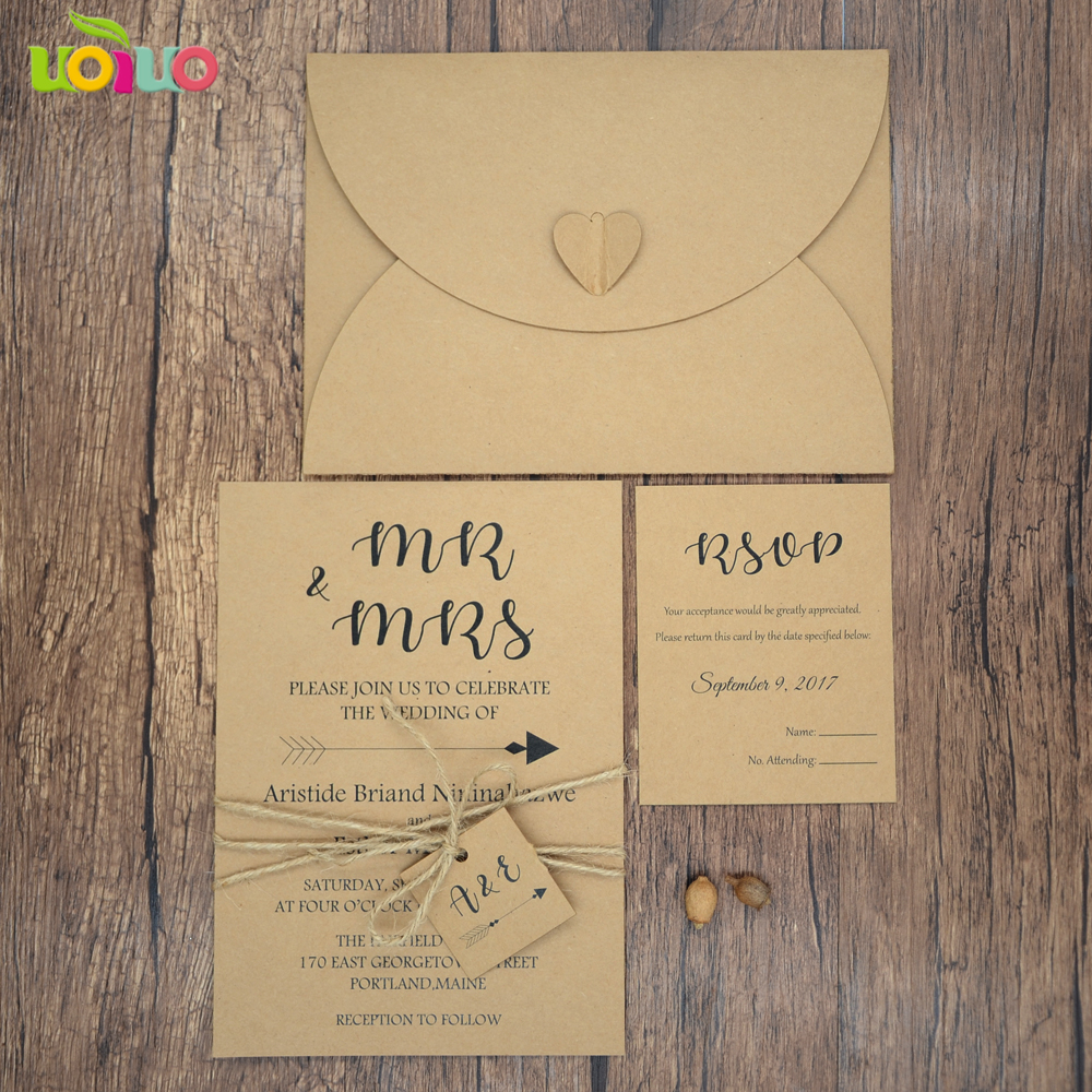 Cheap Wedding Invitation Paper: Aliexpress.com : Buy Cheap Traditional Kraft Paper