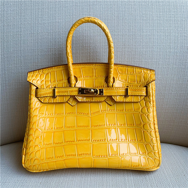 High Quality Genuine Leather Crocodile Pattern Women Shoulder Bag Ladies Handbags Crossbody Yellow Bags Bolsas De MujerHigh Quality Genuine Leather Crocodile Pattern Women Shoulder Bag Ladies Handbags Crossbody Yellow Bags Bolsas De Mujer