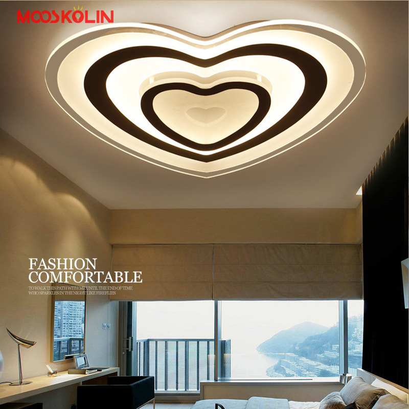 2017 New Modern LED Ceiling Lights Acrylic Ultrathin Living Room Ceiling lights Bedroom Decorative Lampshade Lamparas de techo modern led ceiling lights acrylic ultrathin living room ceiling lights bedroom decorative lampshade lamparas de techo