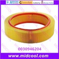 1 PCS frete grátis alta qulality filtro de ar filtro de 0030946204 003 094 62 04
