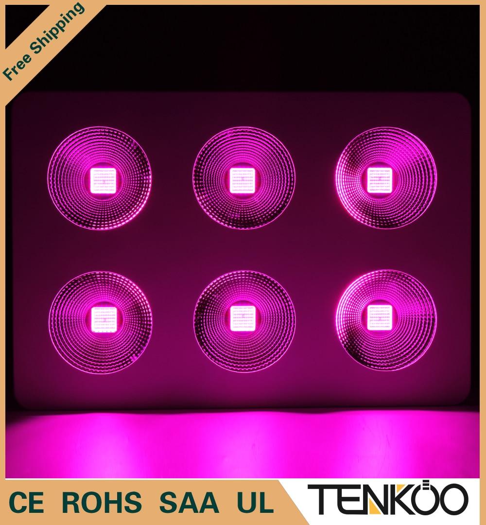 1pcs Full Spectrum COB 600W 1200W 1800W Epistar Chip LED Grow Light Red/Blue/White/UV/IR For Hydroponics/Indoor Plants