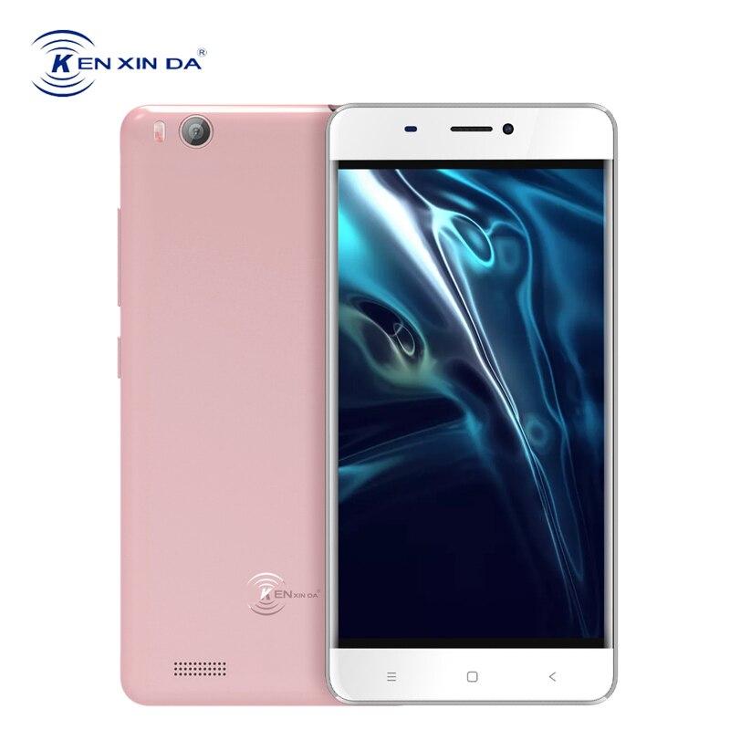 KenXinDa V6 3G Dual Sim Smartphone 4.5 Inch Android 6.0 1GB RAM 8GB ROM SC7731C Quad Core GPS WiFi Unlocked Mobile Cell Phone