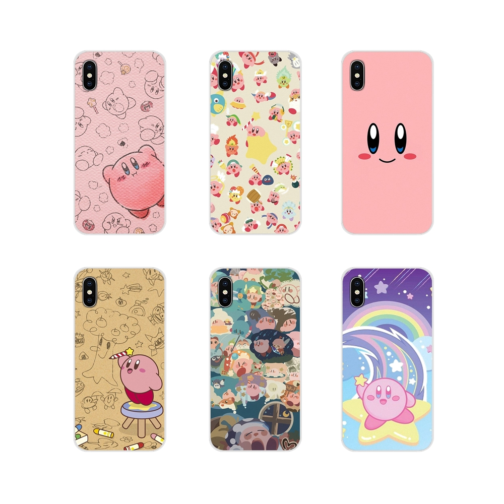 Game Kirby Series For Huawei G7 G8 P7 P8 P9 P10 P20 P30 Lite Mini Pro P Smart Plus 2017 2018 2019 Accessories Phone Cases Covers image