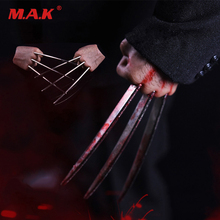 1/6 Bloodstain/Normal Wolverine Claw Hands Type model for 12 inches Male Action Figure