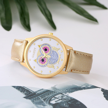 Owl Design Women Quartz Watch