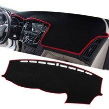 Для LHD Ford Focus 2 3 2013 2012 2011 2010 2009 крышка приборной панели автомобиля коврик защитная накладка автомобильные аксессуары
