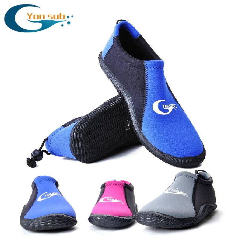 Néoprène 3mm Adulte chaussures aqua Non-slip chaussures de plongée Plage chaussures en caoutchouc Pour Piscine Plongée En Apnée Et Plongée YQ20