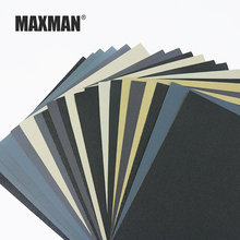 MAXMAN Waterproof Sanding Paper In Abrasive Tools Grit 60-10000 Wet and Dry Sandpaper Polishing Sheets