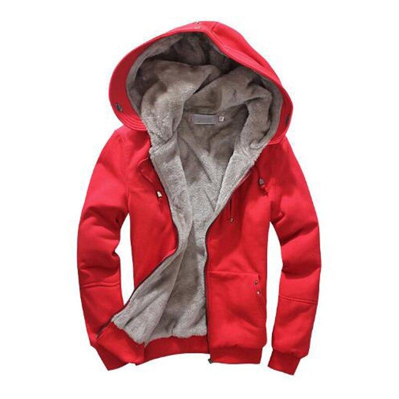 New Style Autumn & Winter Brand Hoodies Men Fleece Fashion Men's Warm Thicken Hoodies Sweatshirts Size M-4XL 6 Colors