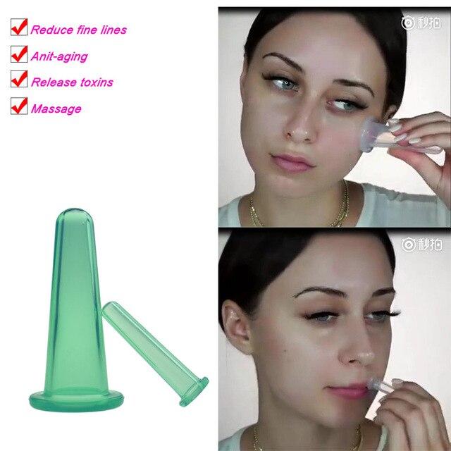 2 pcs jar facial massage cans for massage ventosa celulitis suction cup suction cups face massage cans anti cellulite 3