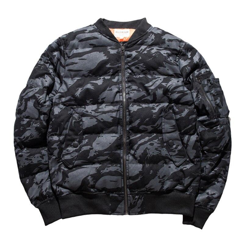Парка с воротником, камуфляжная мужская одежда ВВС, узор, хлопок, со стоячим принтом, на молнии, повседневная, без зимы, мужская куртка, 2019, но... - 6