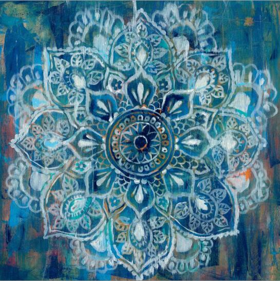 Abstract Art Posters And Prints Wall Art Canvas Painting Classic Brick Draw With Mandala Flower Picture