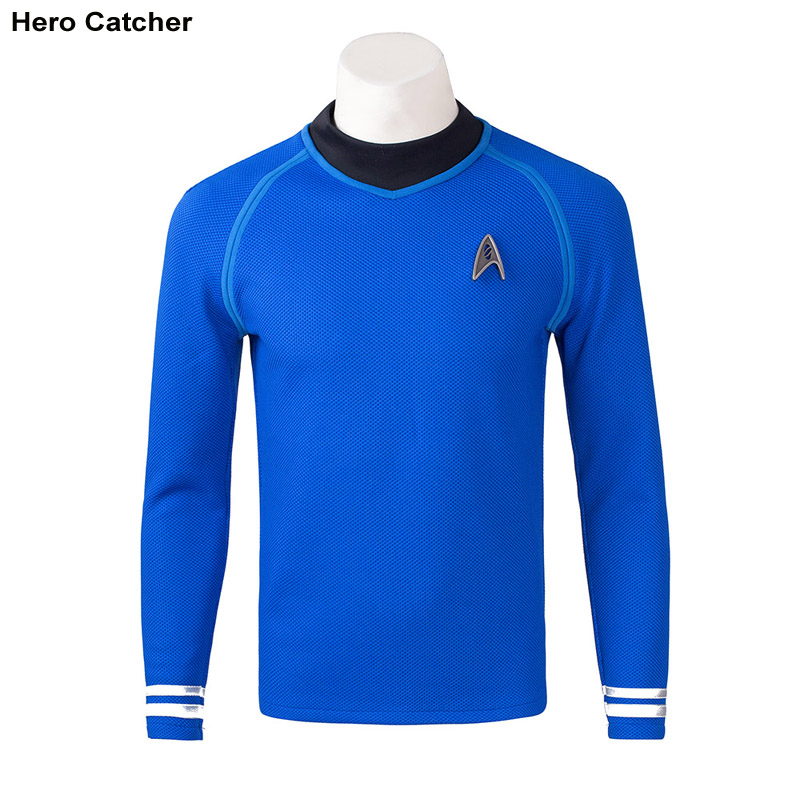 Hero Catcher High Quality Movie StarTrek Costume Captain Kirk Costume