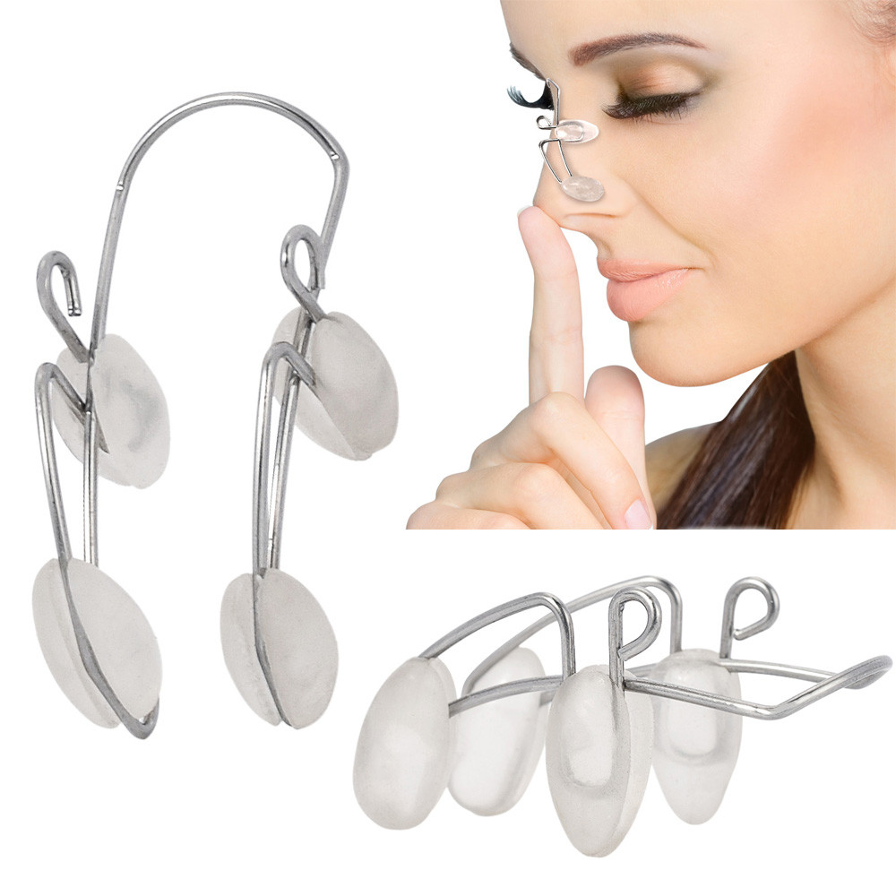 Silicone Clamp Clip Reshape Nose Up Lifting Shaping Shaper Rhinoplasty Nose Job image