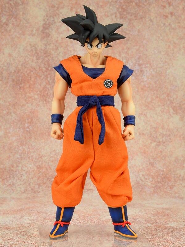 21cm Dragon Ball Z Bick Super Saiya Son Gokou Standing Action Cartoon Figure Toy for Children Collection Gift PVC