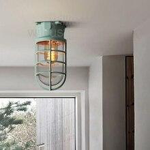 Willlustr Macaron цветная металлическая потолочная лампа Лофт Америка промышленность освещение dock стекло тени Свет Винтаж кованого железа свет