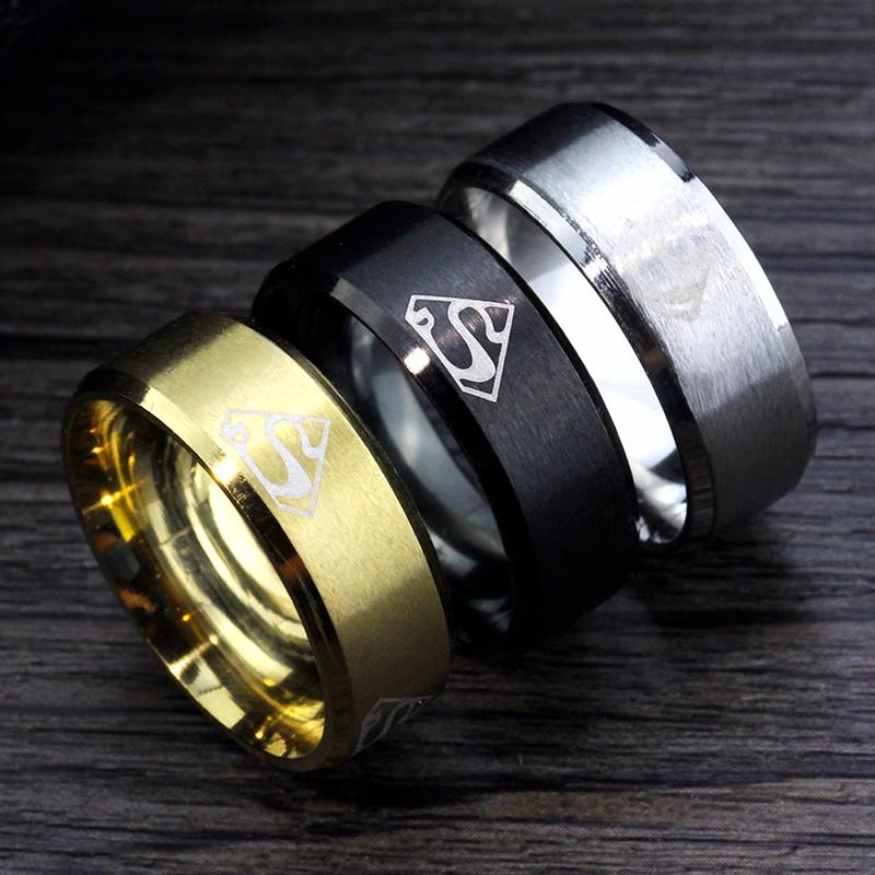 MMS-3-Colors-18K-Gold-Silver-Black-anti-allergy-New-Super-Men-Rings-Stainless-Steel-Women
