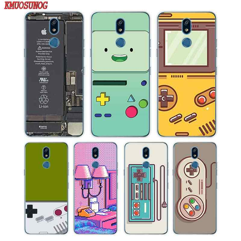 Siliconen Soft Phone Case Fashion Gameboy Video Tape Voor Lg K50 K40 Q8 Q7 Q6 V50 V40 V35 V30 V20 g8 G7 G6 G5 Thinq Mini Cover