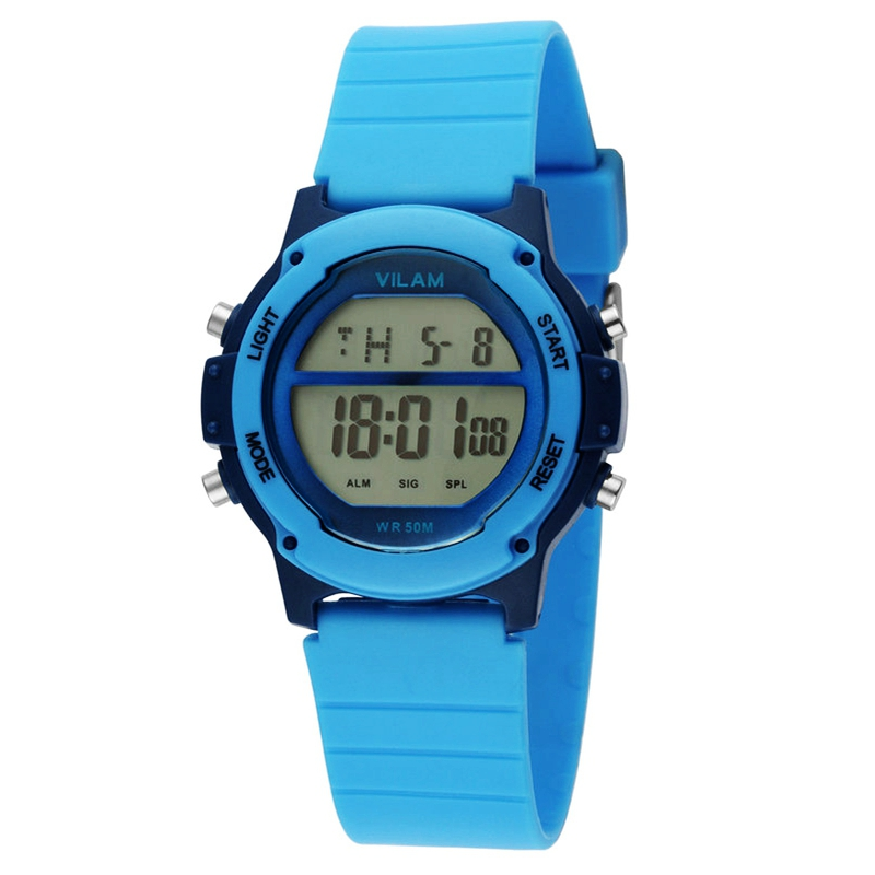 Young Children Watches Student Wristwatch School Clock Fashion Silicone Digital Sport Colorful Electronic Boy Girl kids