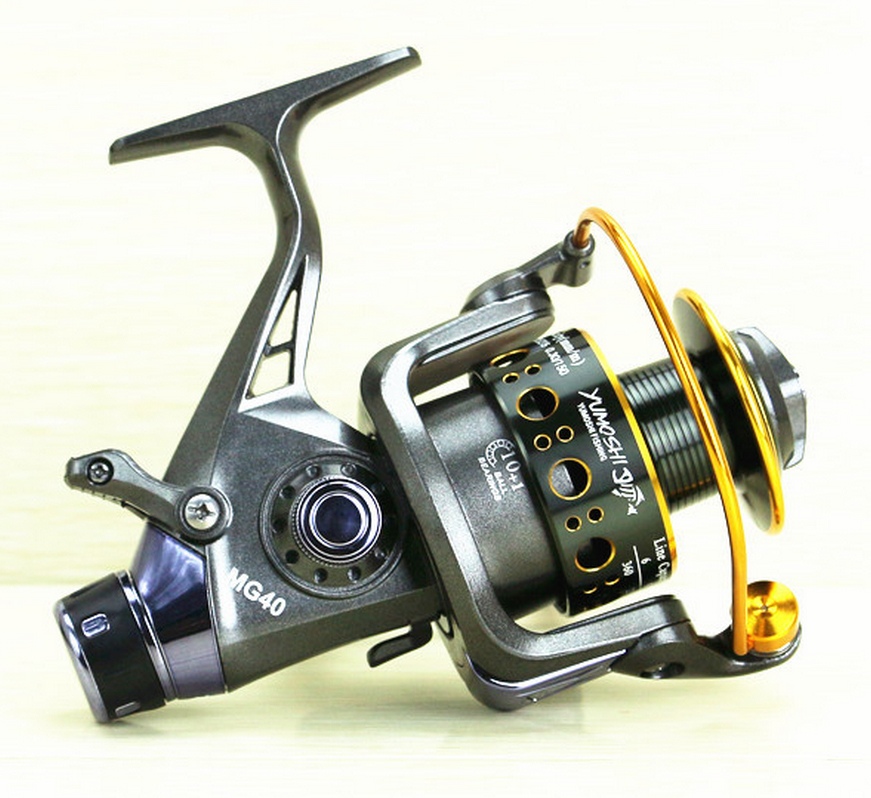 FAST SHIPPING MG60 FOR BIG FISH Ocean fresh saltwater ICE FLY CARP wheel spinning reel 11 Ball Bearings dual line control gaples