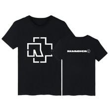 Rammstein Drucken Lustige T-shirt Männer & frauen Kurzarm T Shirts und Rammstein T Shirt Männer Luxus Sommer in 3XL T-shirts