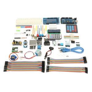 Image 2 - הגעה חדשה DIY יחידה חשמלית אולטימטיבי Starter Kit לarduino מגה 2560 1602 LCD סרוו מנוע LED אלקטרוני ממסר RTC ערכת
