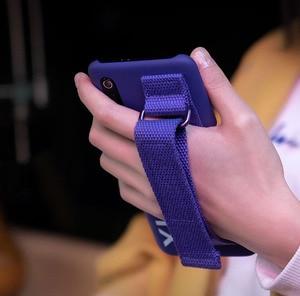Image 2 - מקורי שיאו mi 9 מקרה קשה מקרה מחשב רצועת יד סוגר כיסוי מגן mi nimalism חזרה כיסוי מקרה עבור שיאו mi 9 פוליאסטר mi 9