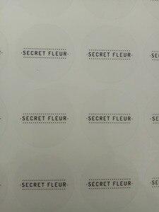 Image 5 - Étiquette autocollante transparente 30mm avec logo personnalisé (sauf impression de logo de couleur blanche)