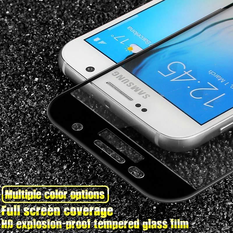 Untuk Samsung Galaxy A5 2017 tempered kaca Imak Fullscreen film - Aksesori dan suku cadang ponsel - Foto 3