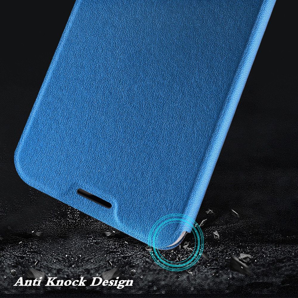 Image 4 - for Redmi 7A Case MOFi Xiaomi Redmi 7A Cover for Mi 7A Flip Xiomi Housing TPU PU Leather Soft Silicone Stand-in Flip Cases from Cellphones & Telecommunications