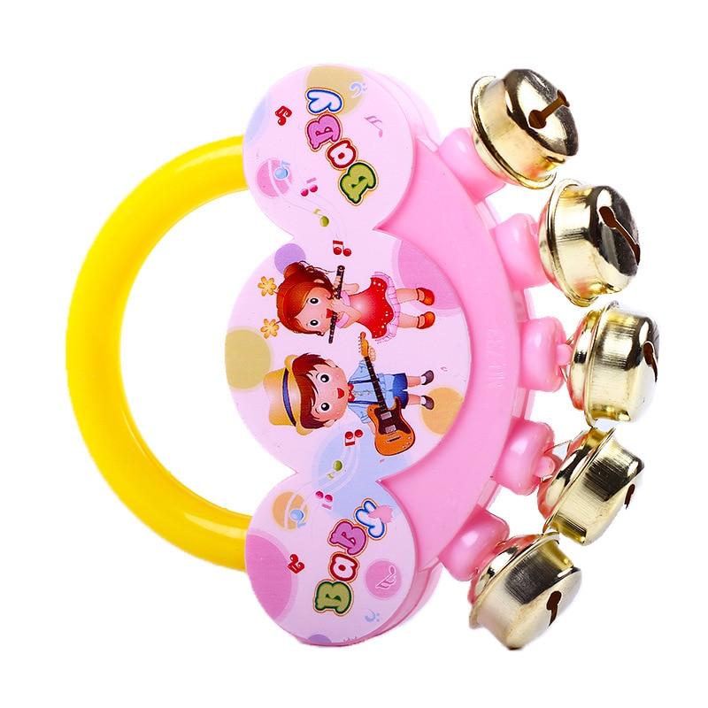 Bébé hochets jouet Intelligence saisir les gencives en plastique cloche à main hochet drôle jouets éducatifs Mobiles pour enfants/bébé