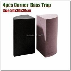 Semicircle shape bass trap acoustic panel 4pcs Studio Soundproof Foam A Quarter Cylinder Wall Corner Treatment  acoustic foam
