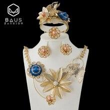 ФОТО leaves dubai indian gold jewelry set ethiopian gold plated nigerian wedding african beads jewelry set  women parure bijoux