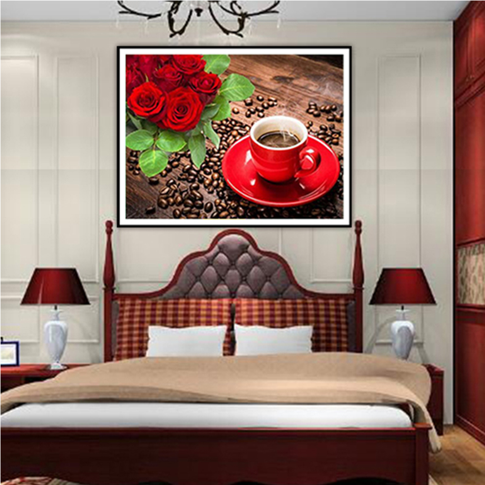 Best Home Decor Gifts 2012: 5d Flower Diamond Embroidery Painting Diy Diamond Mosaic