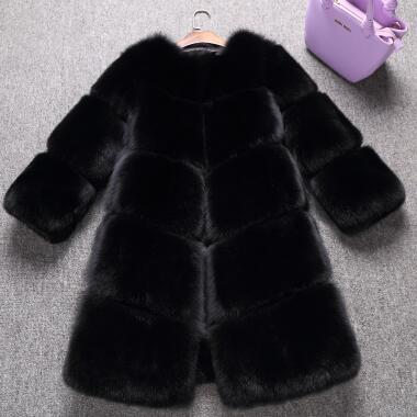 En Noir Automne De Et Chaud D'hiver Réel Sexy Épaississement Renard Dames Fourrure Fox Gros Manteaux Naturel Survêtement BRZUTZq