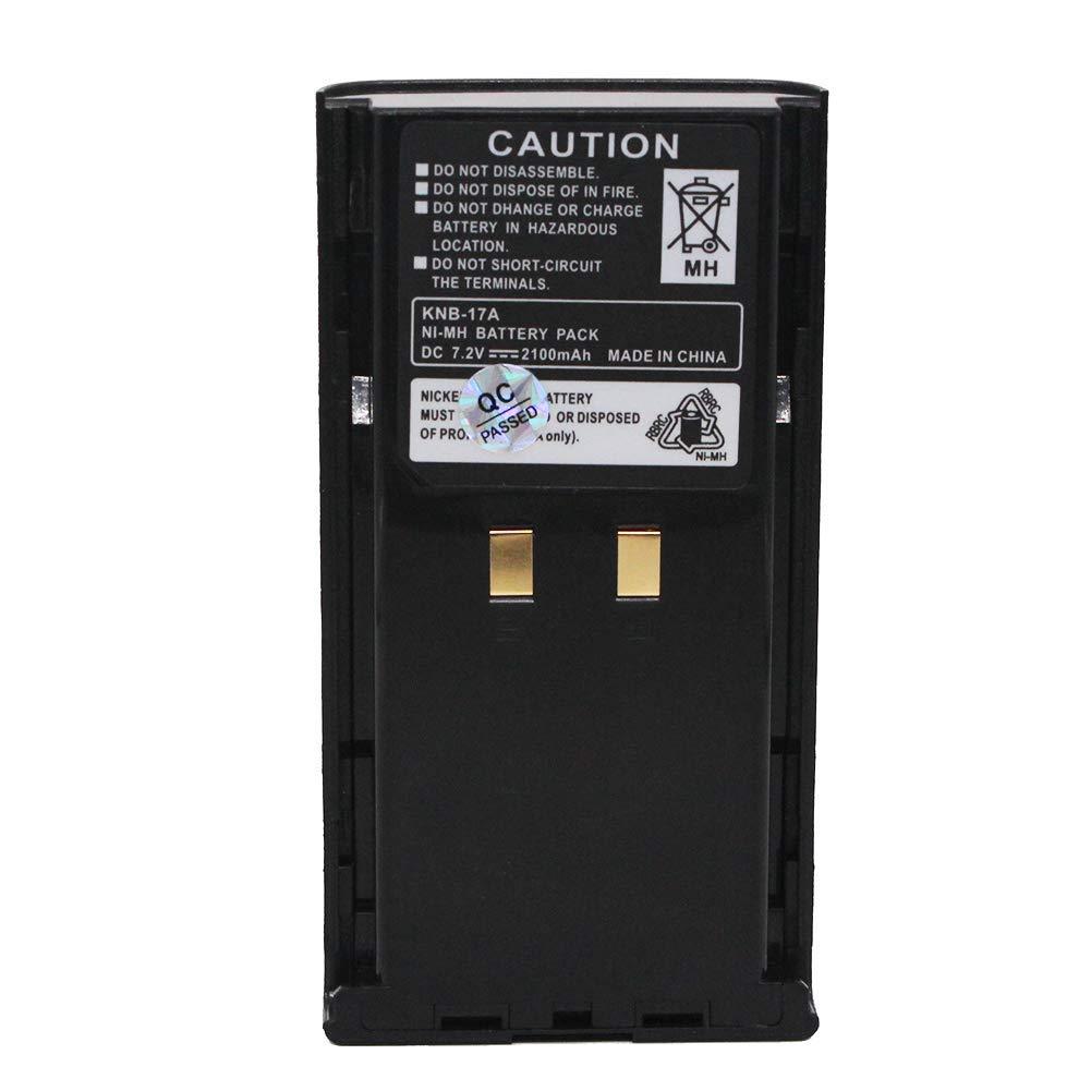 2+1 Battery Charger for KENWOOD KNB-16 KNB-17 KNB-22 TK190 TK-290 TK-390 TK-5400