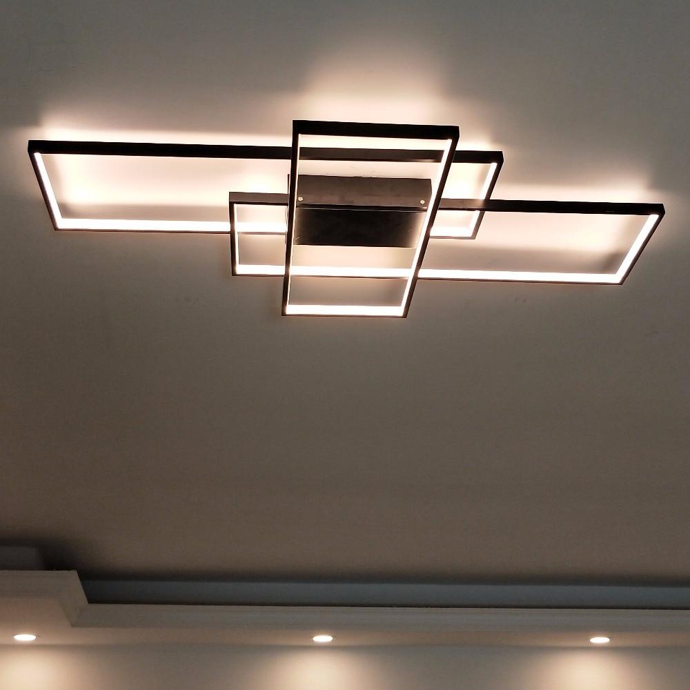 NEO Barlume Rettangolo di Alluminio Moderne plafoniere a Led per ...