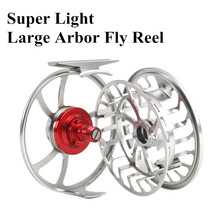 Maximumcatch HVC 3-10 wt Exclusive Super Light CNC Machine Cut Fly Fishing Reel Large Arbor Aluminum Fly Reel
