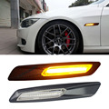 Free Shipping E81 E82 E87 E88 E90 E91 E92 E60 E61 LED Side Marker Light for BMW Fender Turn signal Lamp