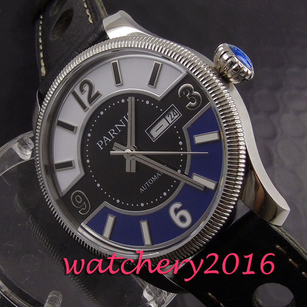 42mm Pranis Black Blue White dial silver hands Date window stainless Automaic Movement Men's business Mechanical Wristwatches new 2017 updated version small bricks base plate 32 32 dots 25 5 25 5cm 10x10 diy building blocks baseplate toy figures 14 col
