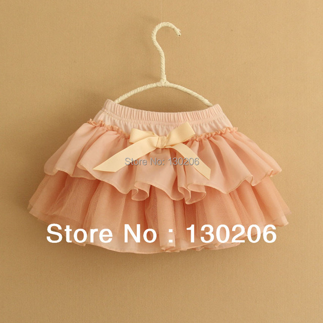 Beautiful spring and summer skirts girls Korean children cute baby princess tutu skirt children