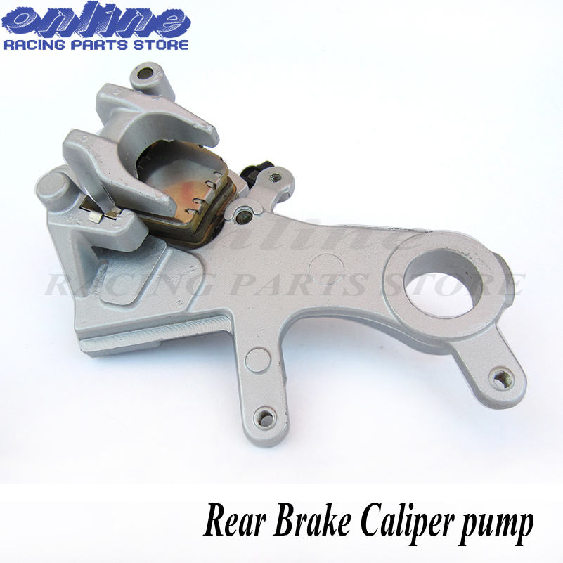 Free shipping Rear Brake Caliper pump with Good Pads 2004-2012 CR125 CR250 CRF250 CRF450 X R xmotos kayo parts oemFree shipping Rear Brake Caliper pump with Good Pads 2004-2012 CR125 CR250 CRF250 CRF450 X R xmotos kayo parts oem