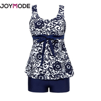 JOYMODE 2017 Summer Floral Print One Piece Swimsuit Women Retro Beachwear Vintage Floral Siamese Swimsuit Chinese